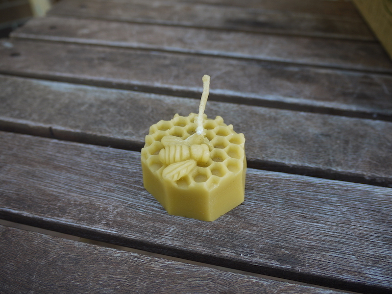 Beeswax Candle - Bee
