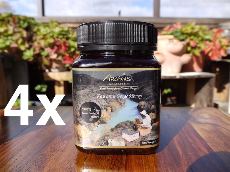 Special - 4 x Kawarau Gorge Honey 1kg (total 4 kg)