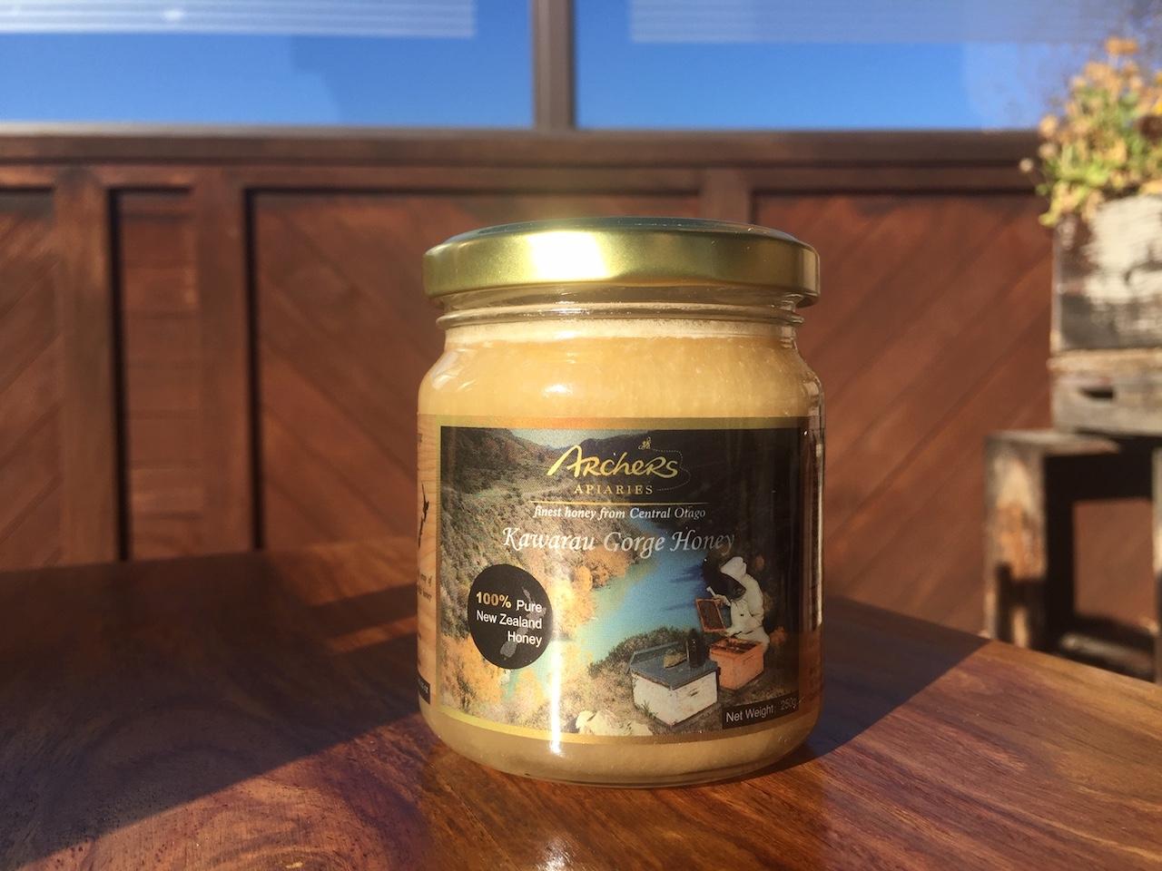 Kawarau Gorge Honey 250g In Glass Jar