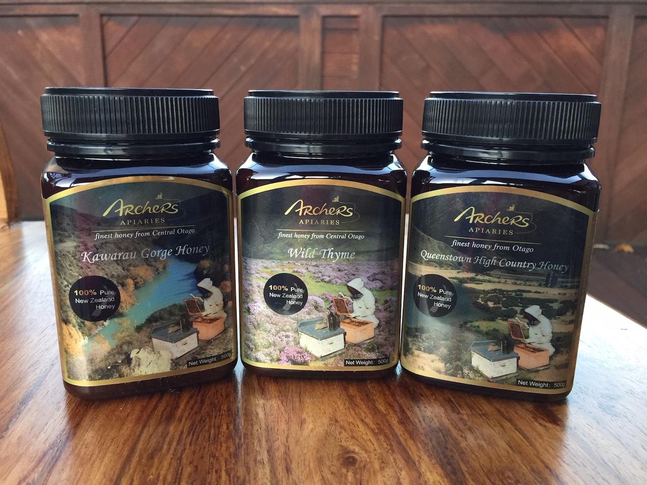 Special - 3 x 500g Otago Honey(3 different types)
