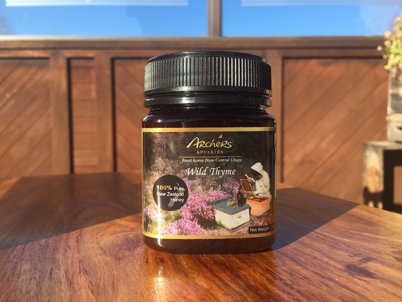 Thyme Honey 250g in Plastic Jar