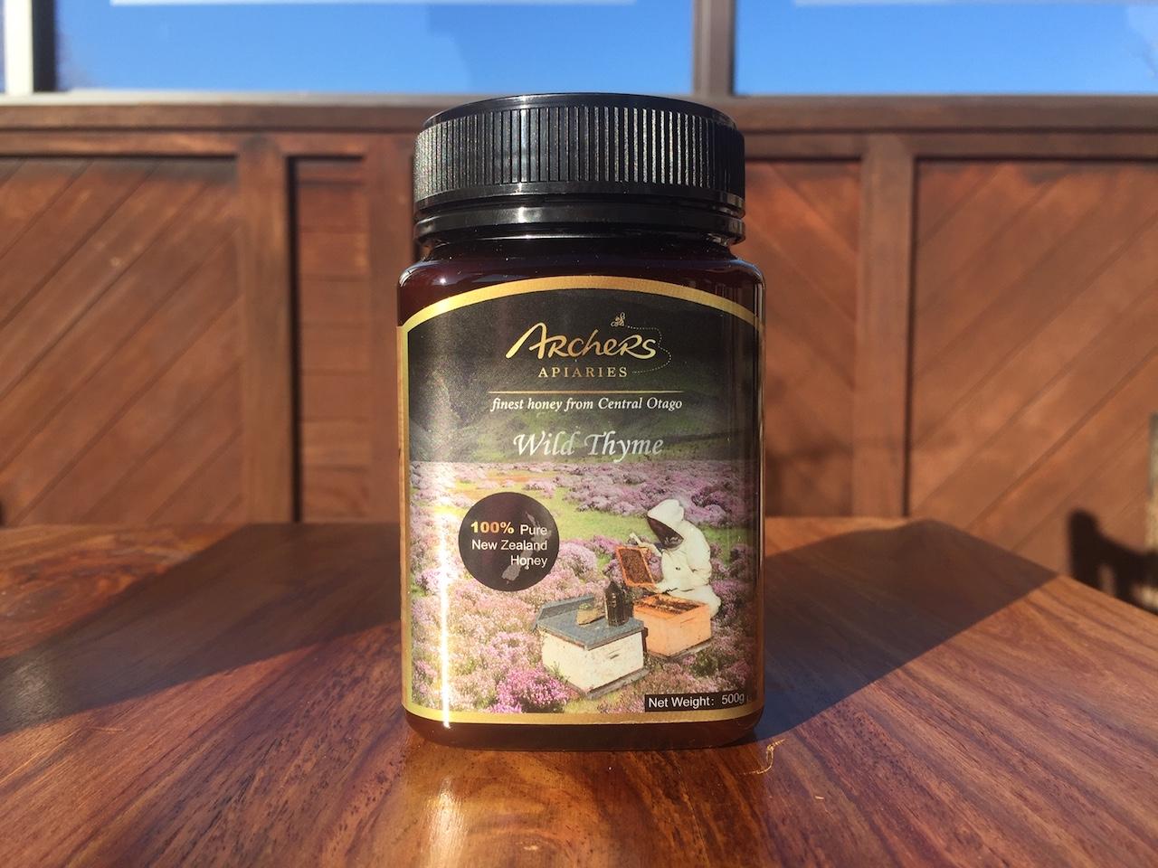 Thyme Honey 500g In Plastic Jar